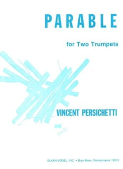 Parable 25 for Two Trumpets, Opus 164 Vincent Persichetti laflutedepan