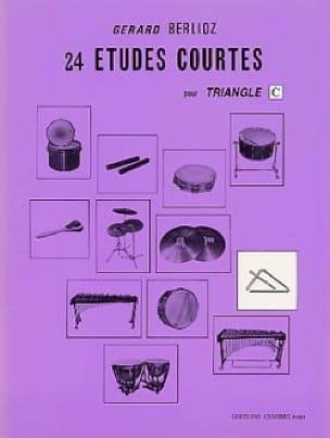 24 Etudes Courtes Volume C - BERLIOZ - Partition - laflutedepan.com
