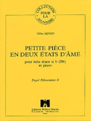 Petite Piéce en 2 Etats d'Âme - Gilles Senon - laflutedepan.com