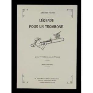 Légende Pour Un Trombone - Michel Hulot - Partition - laflutedepan.com