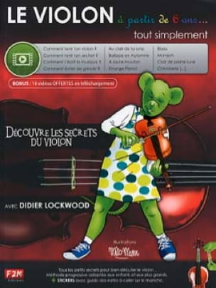 Le VIOLON à partir de 6 ans... - Didier Lockwood - laflutedepan.com
