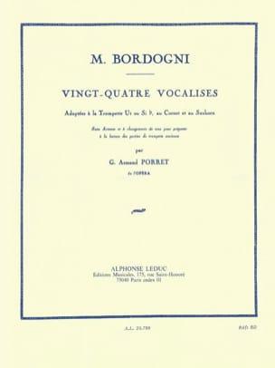 24 Vocalises M. Bordogni Partition Trompette - laflutedepan