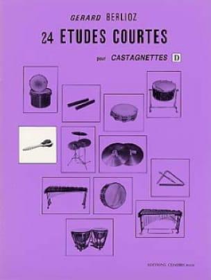 24 Etudes Courtes Volume D - BERLIOZ - Partition - laflutedepan.com