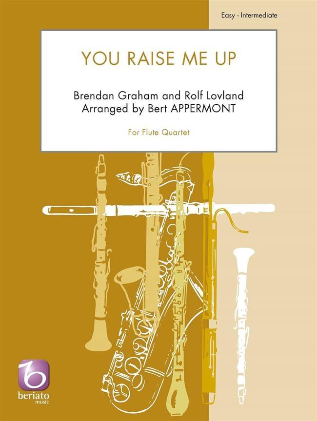 You Raise Me Up - Quatuor de Flûtes - Partition - laflutedepan.com