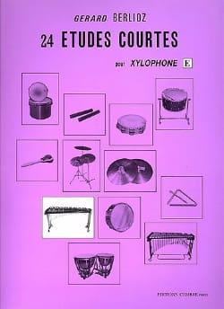 24 Etudes Courtes Volume E BERLIOZ Partition Xylophone - laflutedepan