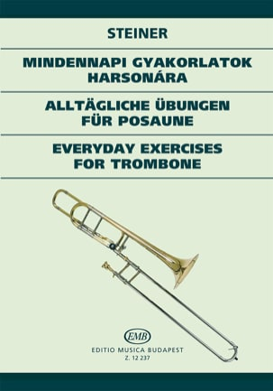 Everyday Exercices For Trombone Ferenc Steiner Partition laflutedepan
