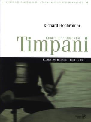 Etüden Für Timpani Volume 1 Richard Hochrainer Partition laflutedepan