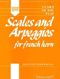 Learn as you Play - Scales And Arpeggios For French Horn laflutedepan