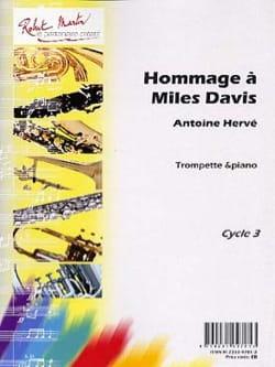 Hommage A Miles Davis Antoine Hervé Partition Trompette - laflutedepan