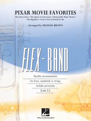 Pixar Movie Favorites - FlexBand Pixar (Walt Disney) laflutedepan