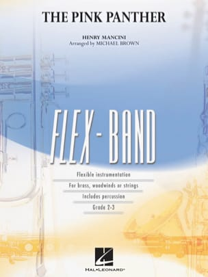 The Pink Panther - FlexBand MANCINI Partition ENSEMBLES - laflutedepan
