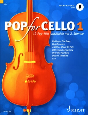 Pop For Cello - Volume 1 Partition Violoncelle - laflutedepan