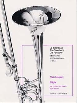 Elégie Alain Margoni Partition Trombone - laflutedepan