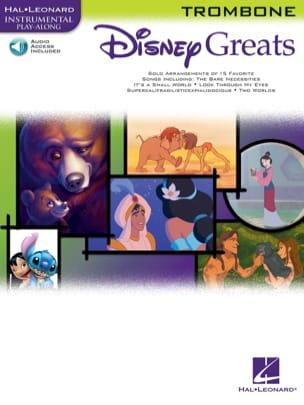 Disney greats DISNEY Partition Trombone - laflutedepan