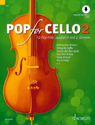 Pop For Cello - Volume 2 Partition Violoncelle - laflutedepan