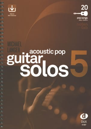 Acoustic Pop Guitar Solos - Volume 5 - laflutedepan.com