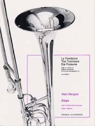 Elégie - Alain Margoni - Partition - Trombone - laflutedepan.com
