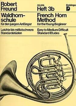 French Horn Method Heft 3b Robert Freund Partition Cor - laflutedepan