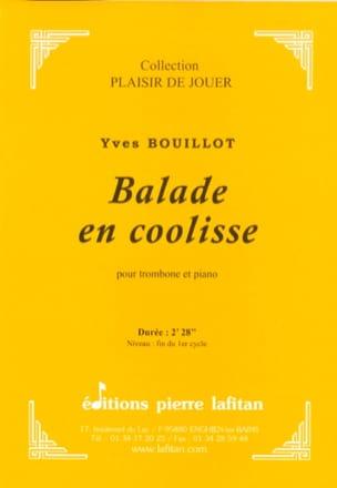 Balade en coolisse Yves Bouillot Partition Trombone - laflutedepan