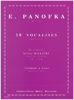 10 Vocalises - E. Panofka - Partition - Trombone - laflutedepan.com