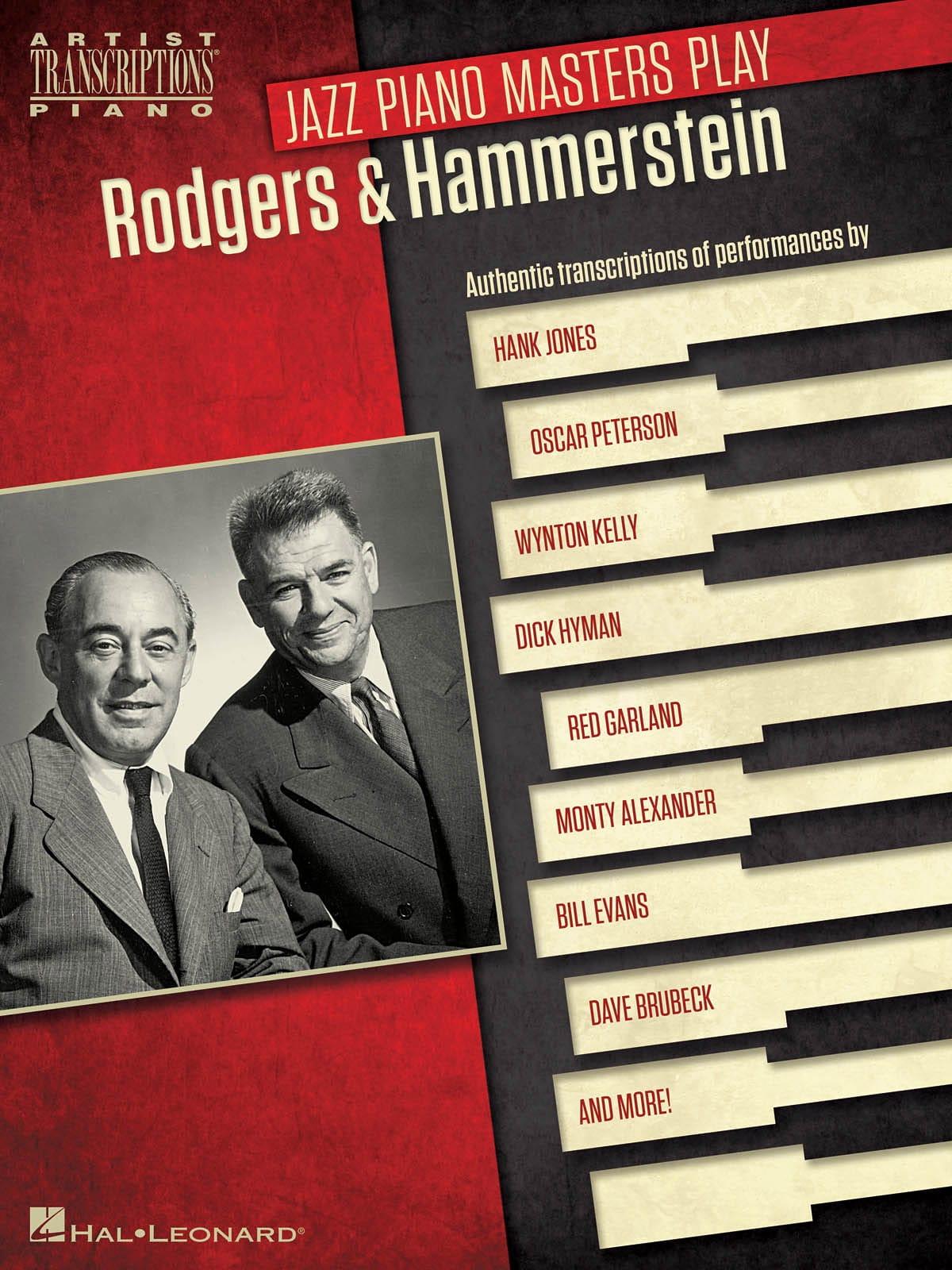 Jazz Piano Masters Play Rodgers & Hammerstein - laflutedepan.com