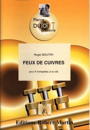 Feux de cuivres - Roger Boutry - Partition - laflutedepan.com
