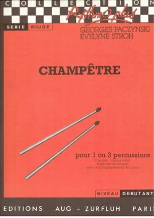 Champêtre - Paczynski Georges / Stroh Evelyne - laflutedepan.com
