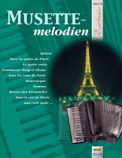 Musette melodien - Exclusiv Partition Accordéon - laflutedepan