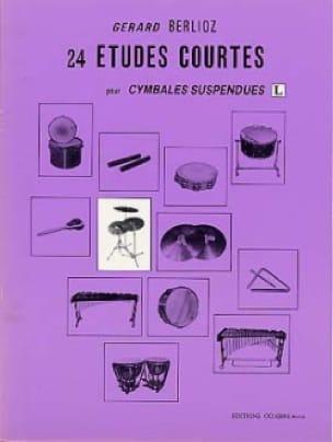 24 Etudes Courtes Volume L - BERLIOZ - Partition - laflutedepan.com