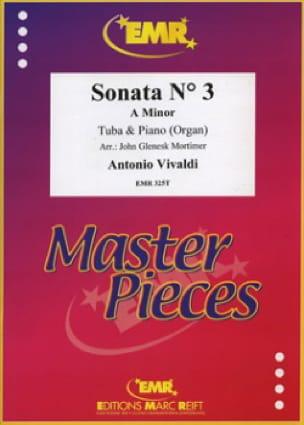 Sonata N° 3 A Minor - VIVALDI - Partition - Tuba - laflutedepan.com