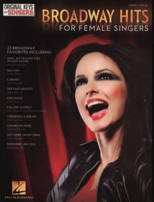 - Broadway hits for female singers - Partition - di-arezzo.co.uk