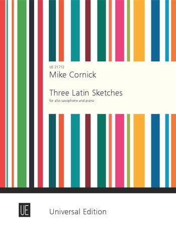 Three Latin Sketches - Mike Cornick - Partition - laflutedepan.com