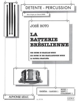 La batterie brésilienne samba volume 1 - Cuaderno 1 laflutedepan