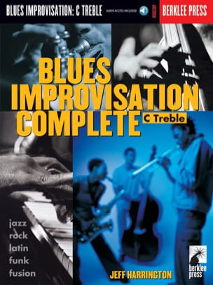 Blues Improvisation Complete C Treble Jeff Harrington laflutedepan