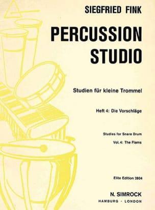 Siegfried Fink - Studies For Snare Trommel Drum Volume 4 - Partition - di-arezzo.co.uk