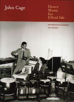 Dance Music for Elfrid Ide - Conducteur CAGE Partition laflutedepan