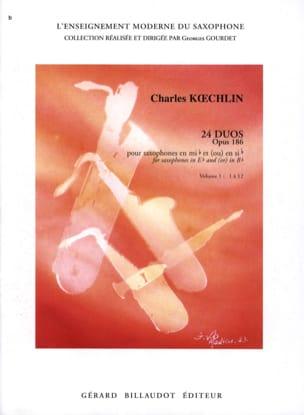 24 Duos Opus 186 Volume 1 Charles Koechlin Partition laflutedepan