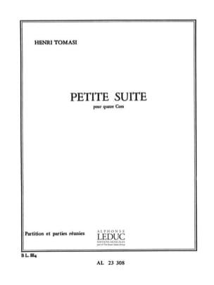 Petite Suite TOMASI Partition Cor - laflutedepan
