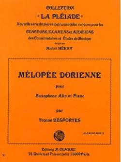 Yvonne Desportes - Dorian melopea - Partition - di-arezzo.co.uk