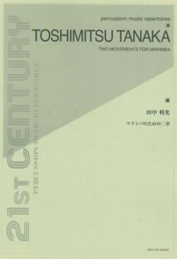 Two Movements For Marimba Toshimitsu Tanaka Partition laflutedepan