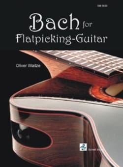 Bach for flatpicking-guitar BACH Partition Guitare - laflutedepan