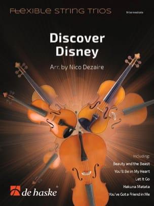 Discover Disney - Flexible String Trios DISNEY Partition laflutedepan