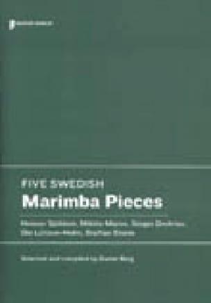 Five Swedish marimba pieces - Partition - laflutedepan.com