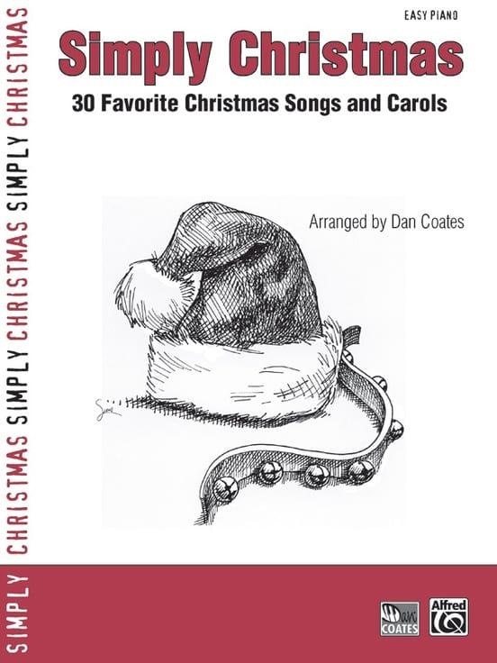 Simply Christmas - Noël - Partition - Piano - laflutedepan.com
