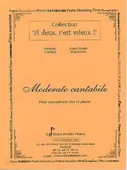 Moderato Cantabile Casiez Frédéric / Soldano Jean-Claude laflutedepan