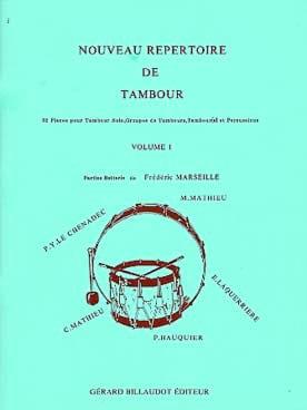 Nouveau Répertoire de Tambour Volume 1 Partition laflutedepan