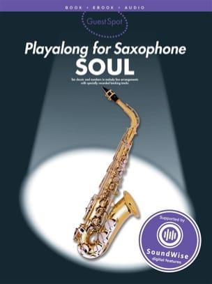 Guest Spot - Soul Playalong For Alto Saxophone laflutedepan
