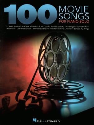 100 Movie Songs for Piano Solo Partition Piano - laflutedepan