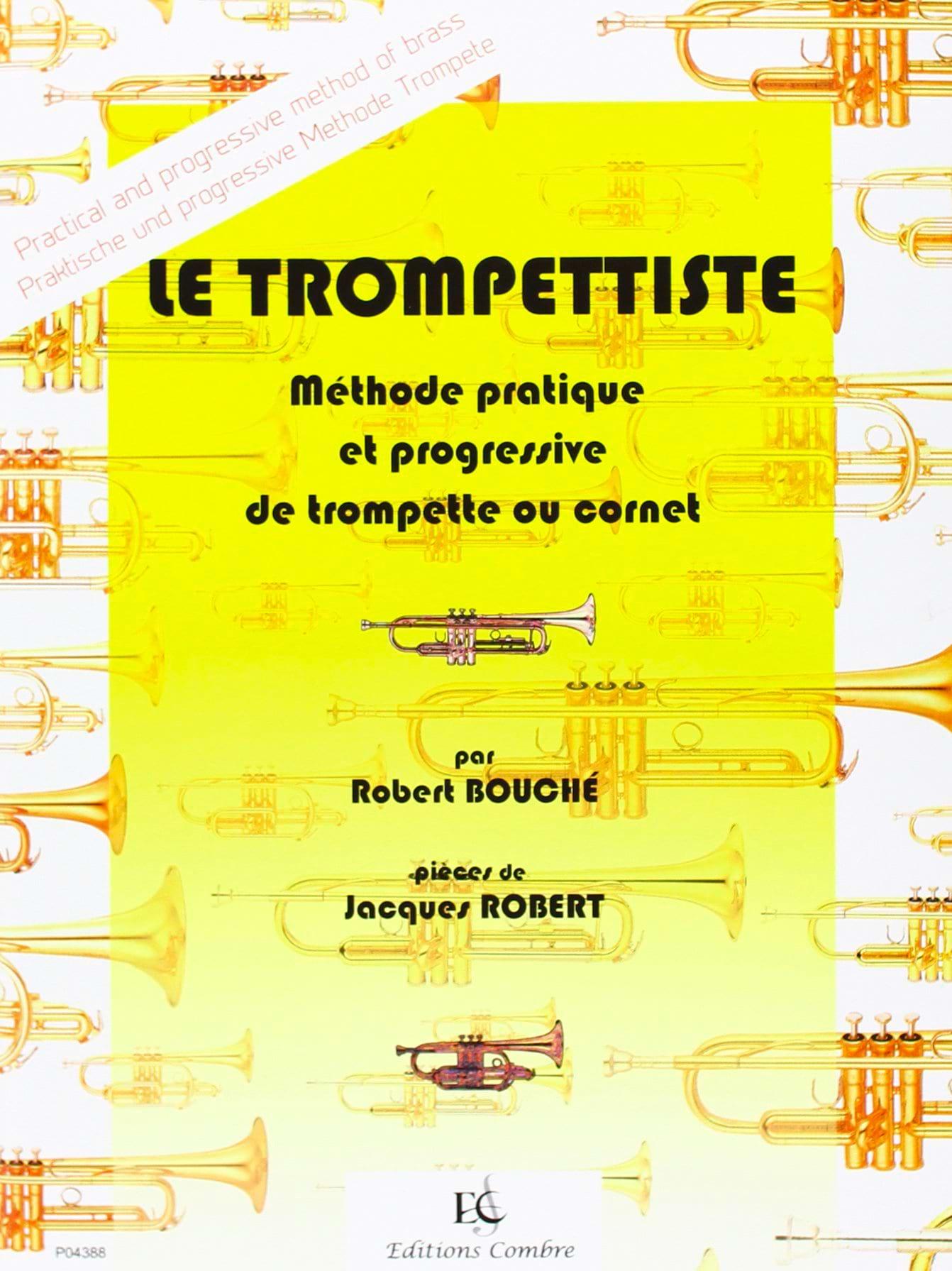 Le trompettiste - Robert Bouché - Partition - laflutedepan.com