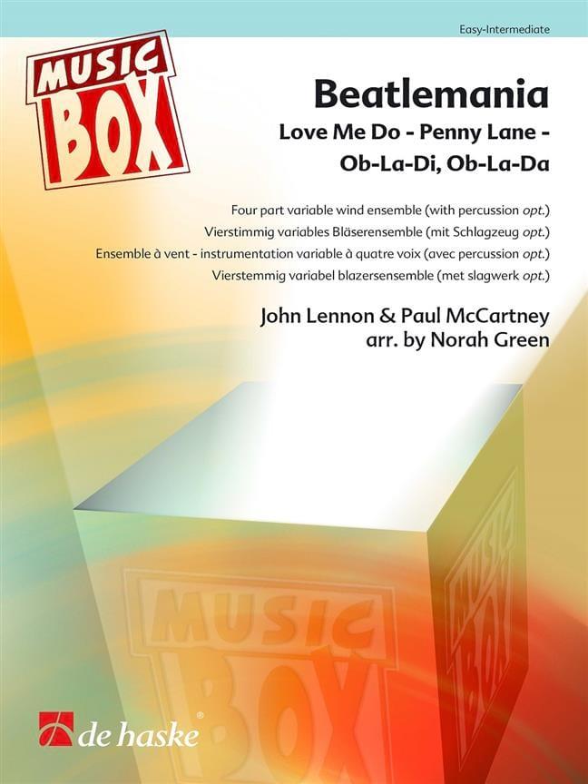 Beatlemania - Beatles - Partition - ENSEMBLES - laflutedepan.com